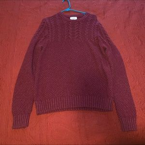 Goodfellow knit sweater red